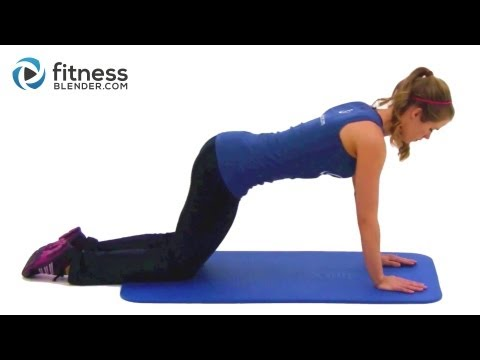 Kelli's Favorite Bodyweight Workout - Total Body Toning & Functional Strength Training Exercises
