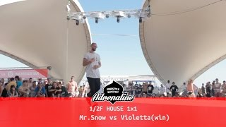 1/2F House Sneg vs Violetta(win)@Adrenaline Fest World Finals / Z-Games 2016