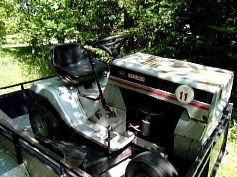Mystery Sears Craftsman Lt11 Riding Mower Youtube