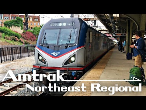 Train Trip: Amtrak Northeast Regional Baltimore to Washington D.C. (BAL-WAS)