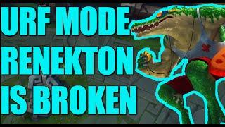 urf renekton is broken urf mode 2016 league of legends