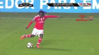 Renato Sanches Magistral Golo Benfica 3 x 0 Académica 12ª Jorn Liga Nos 2015-16 [HD]