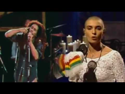 WAR duet by sinead o'connor and bob marley