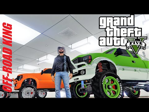 GTA 5 : BATTLE ME the KING of OFF-ROAD in the RAGE-O-THON 4 / OPEN LOBBY LIVE STREAM