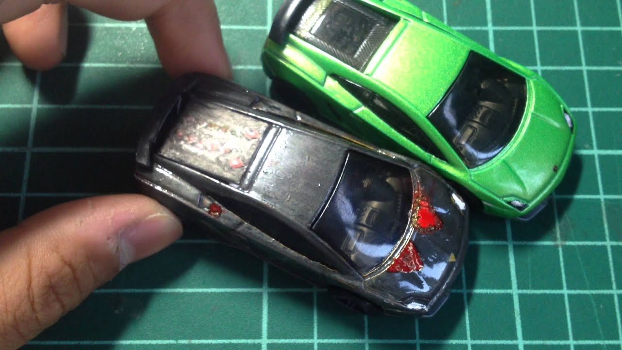 Hot Wheels Lamborghini Sesto Elemento - YouTube