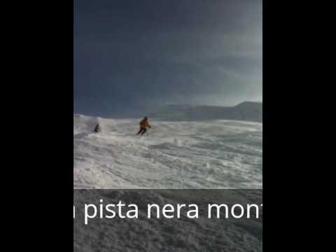 Discesa monte neve - livigno 2010