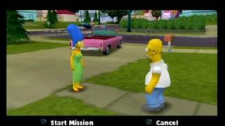Game | The Simpsons Hit Run 100 01 Level 1, Part 1 | The Simpsons Hit Run 100 01 Level 1, Part 1