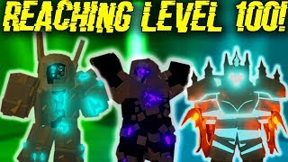 REACHING LEVEL *100* IN DUNGEON! (NEW UPDATE NEWS?) (ROBLOX DUNGEON QUEST)