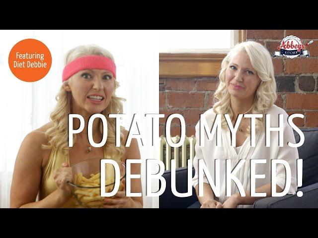 POTATO MYTHS and Low Carb Diet Debunked | Dietitians Eat French Fries | Feat. Diet Debbie