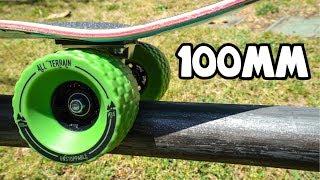 100mm ALL TERRAIN SKATEBOARD WHEELS!!!