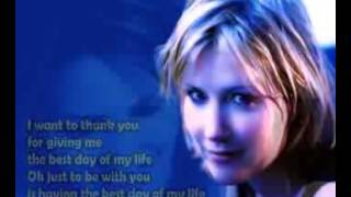 Dido Thank you Lyrics on screen