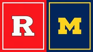 First Half Highlights: Michigan at Rutgers | Big Ten Football