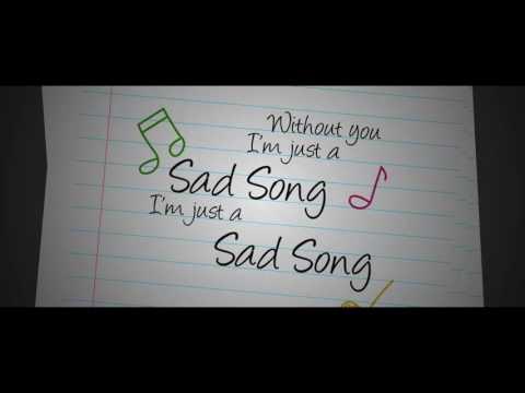 Sad Song (Lyric Video)