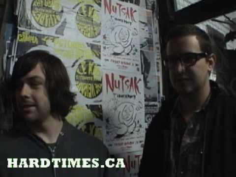 Young Widows Video Interview HARDTIMES.CA