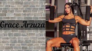 Фитнес модель Grace Arzuza | Мотивация | Спорт