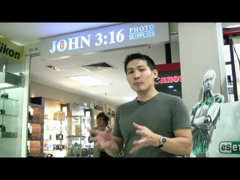 1 Minute with Willy Ep20. Camera Shops in Singapore - Photography Tips