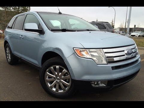 Used Ice Blue 2008 Ford Edge Limited AWD Review | Penhold ...