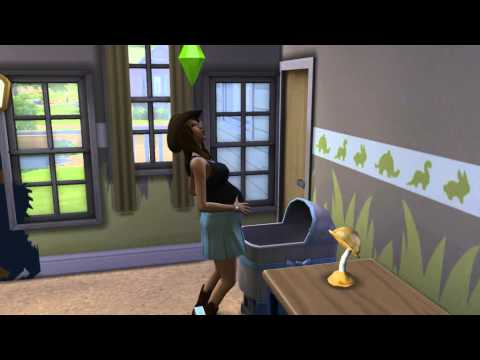 the-sims-4-footage:-sim-giving-birth