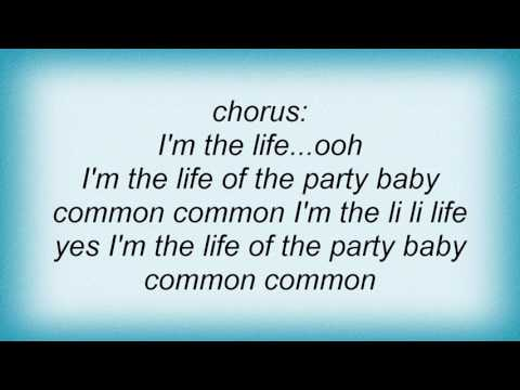 Alana Dante  The Life Of The Party Lyrics