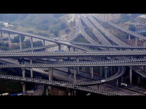 Jaw-dropping: Dare to drive on China's highest bridge which is 72-meter-tall in Chongqing?
