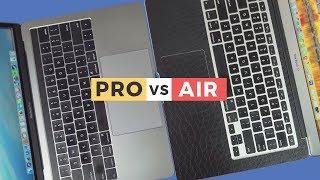 Macbook PRO 2017 vs. Macbook AIR | Comparativo!