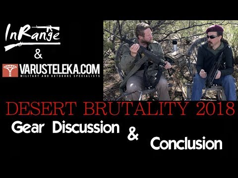 Desert Brutality 2018: Gear Discussion & Conclusions