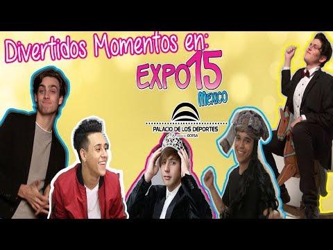 Momentos Divertidos en Expo 15 con Alex Casas, Santiago Achaga y muchos más