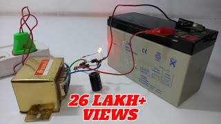 How to Make 12 Volt Battery Charger (EASY-WAY)