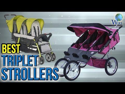 Triple Strollers for Triplets