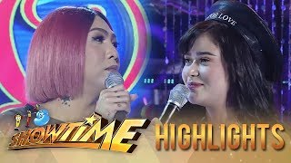 Video It's Showtime Miss Q & A: Love poem by Vice and Bela download MP3, 3GP, MP4, WEBM, AVI, FLV Juni 2018