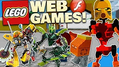 OLD LEGO & BIONICLE WEB GAMES! - Diamondbolt