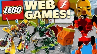 OLD LEGO & BIONICLE WEB GAMES! - Diamondbolt