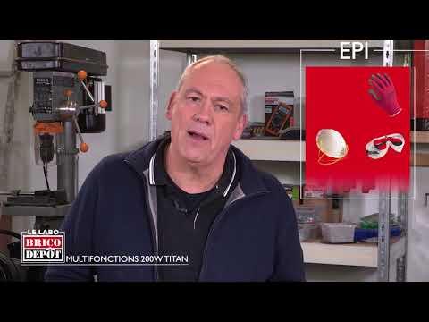 Labo Brico Test De L Outil Multifonctions 200w Titan Youtube