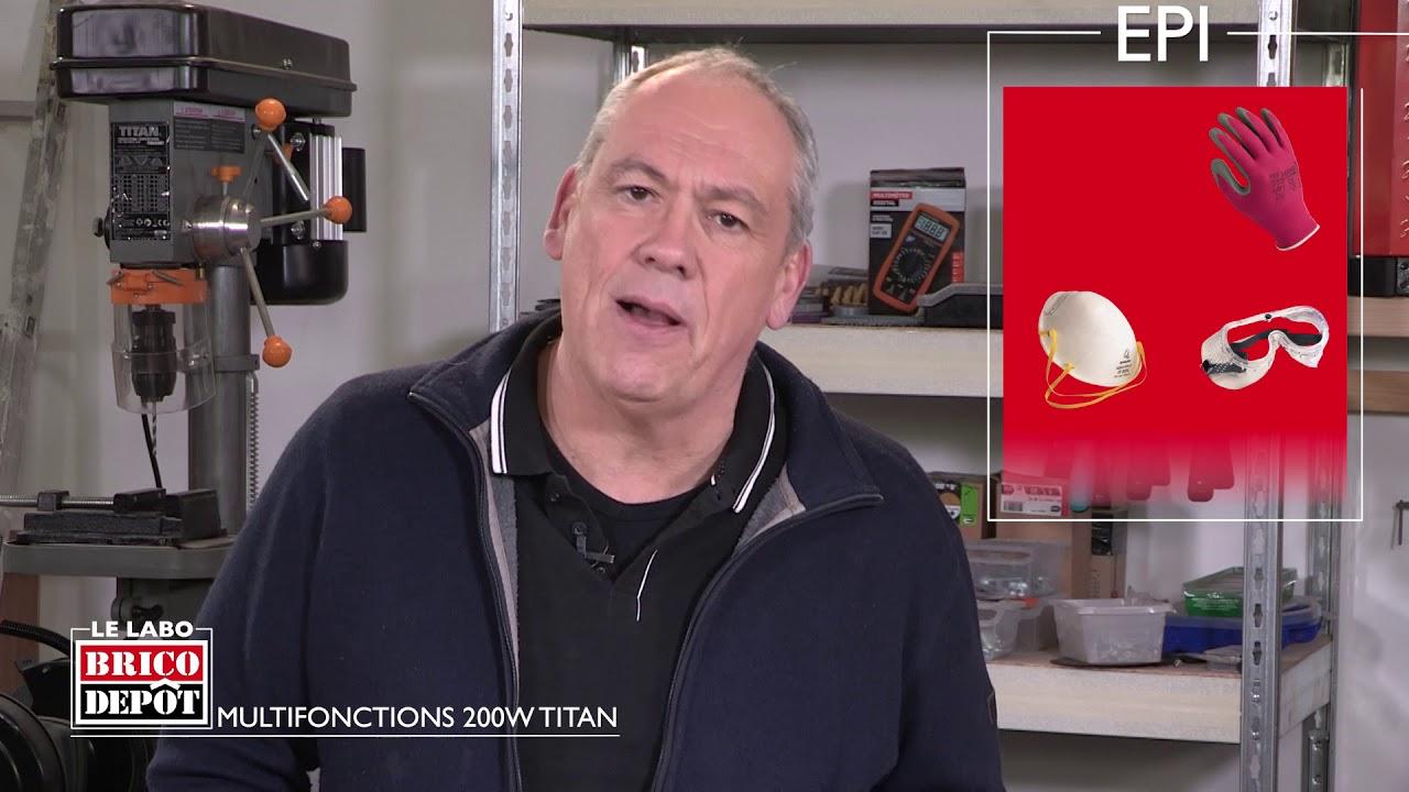 Labo Brico Test De L Outil Multifonctions 200w Titan
