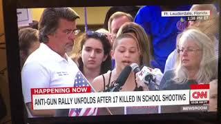 Emma Gonzalez Full Speech At Anti-Gun Rally Ft. Lauderdale Florida .We Call BS. Emma Gonzalez full speech at anti-gun rally Saturday, February 17th, 2018. .We Call BS.. Emma Gonzalez Speech At Anti-Gun Rally Ft. Lauderdale Florida., From YouTubeVideos