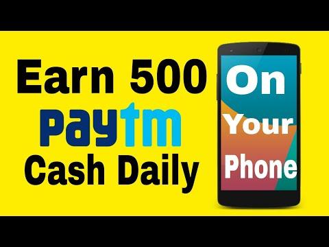Earn daily 500 Paytm Cash | Earn Mafia Application | On Your Phone