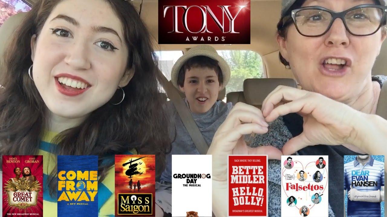 Carpool Karoake: The Tony Awards!   Anthony Rosenthal