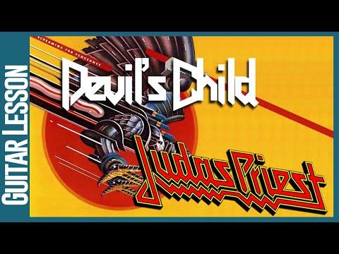 Devil's Child By Judas Priest - Guitar Lesson