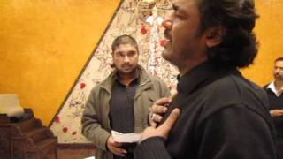 Asghar Khan Reciting Noha Mainu Veeran Tairian (Karachi 2011)