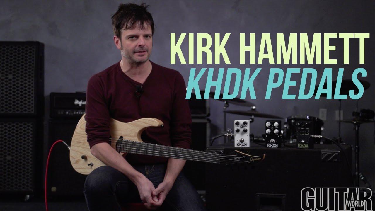 metallica 39 s kirk hammett khdk pedals youtube. Black Bedroom Furniture Sets. Home Design Ideas
