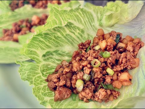 OFFICIAL P.F. Chang's Chicken Lettuce Wraps Recipe!!!! P.F. Chang's CopyCat Chicken Lettuce Wraps
