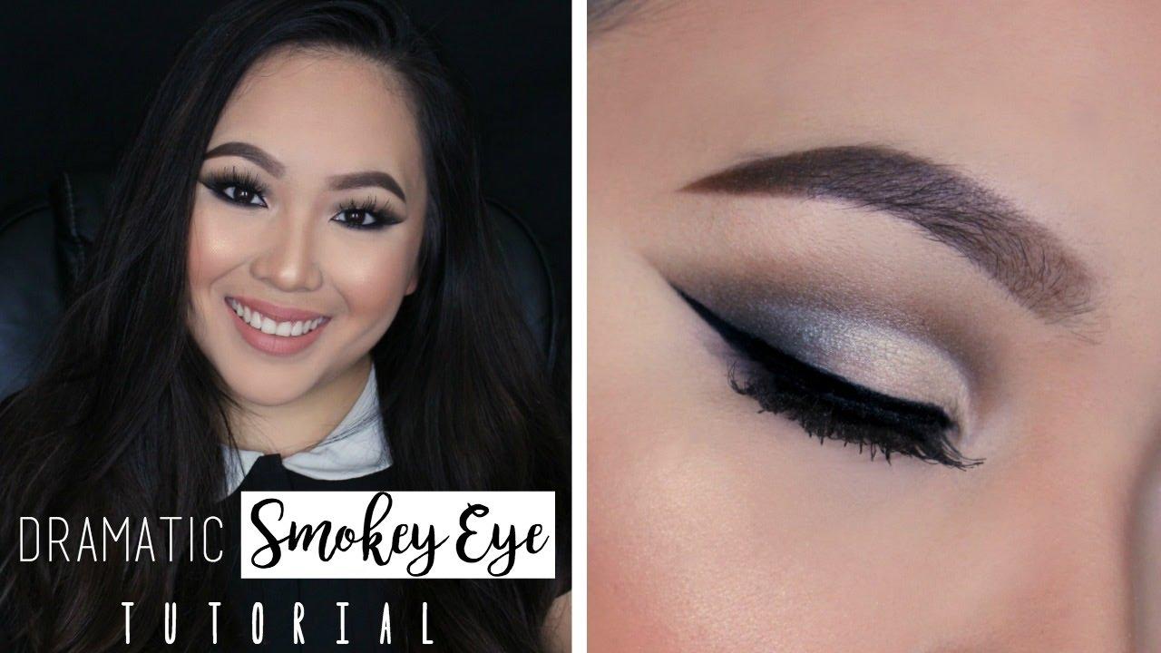 Simple smokey eyes asian edition.