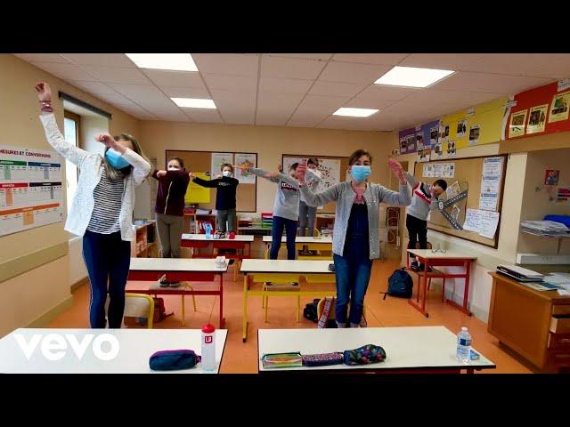 Aldebert - Corona Minus, la chanson des gestes barrières pour l'école (Clip officiel)
