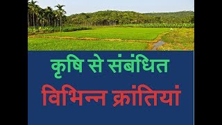 Important GK Questions Agriculture