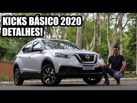 NOVO NISSAN KICKS 2020 BÁSICO - Falando de Carro