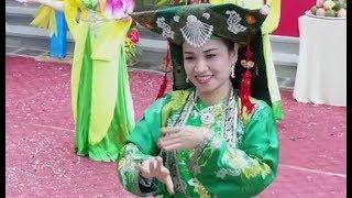 Cô Đôi Thượng Ngàn || Thanh Bình biểu diễn tại Lễ Khánh Thành Ngôi Tam Bảo chùa LINH NHÂN TƯ PHÚC
