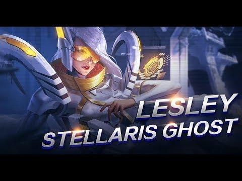 Mobile Legends Bang Bang Lesley New Skin Stellaris Ghost