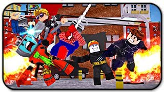 Infinity War Part 2 Roblox Hero War Tycoon with Jeromeasf, Gallant Gaming and Bifflewiffle