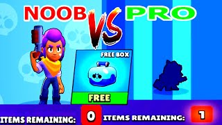 NOOB VS PRO  OPENING BOXES ! Brawl Stars Funny Moments