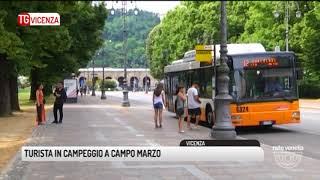 TG VICENZA (21/08/2017) - TURISTA IN CAMPEGGIO A CAMPO MARZO
